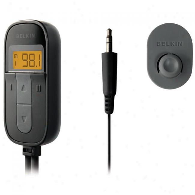 Belkin Tuneacst Universal Fm Transmitter For Mp3 Players