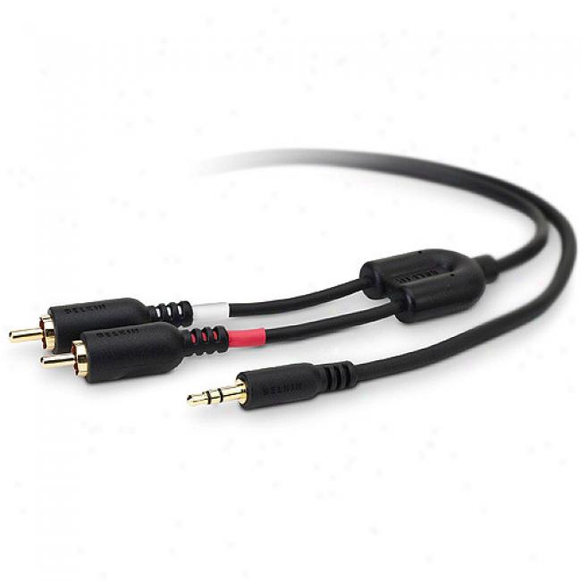 Belkin Y Auduo Cable, 7'