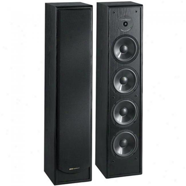 Bic America 2-way Tower Speaker Wtih Dual 8