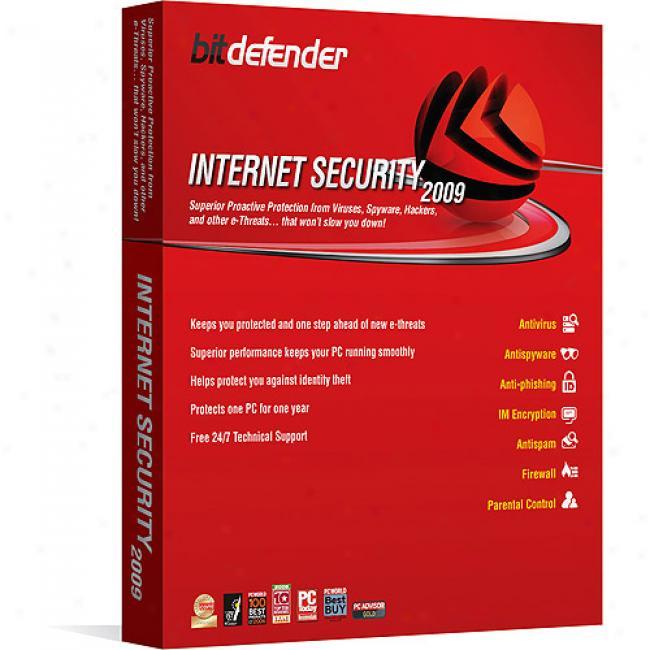 Bitdefender Internet Security 1 Yr / 1 Pc
