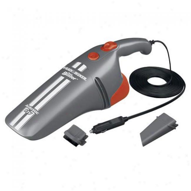 Black & Dscker 12-volt Dustbuster Auto Vacuum