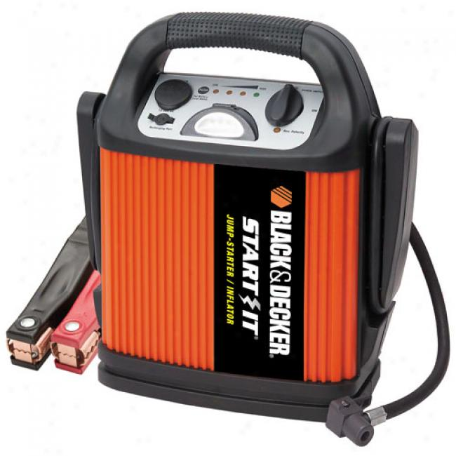 Black & Decker Jump Starter And Inflator