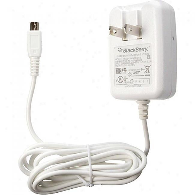 Blackberry International Travel Charger - White
