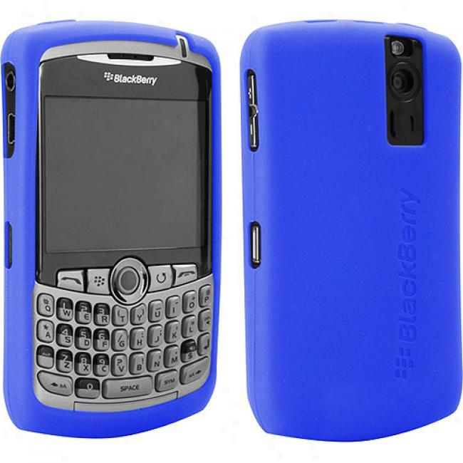 Blackberry Rubber Skin Case For 8300 Series - Blue
