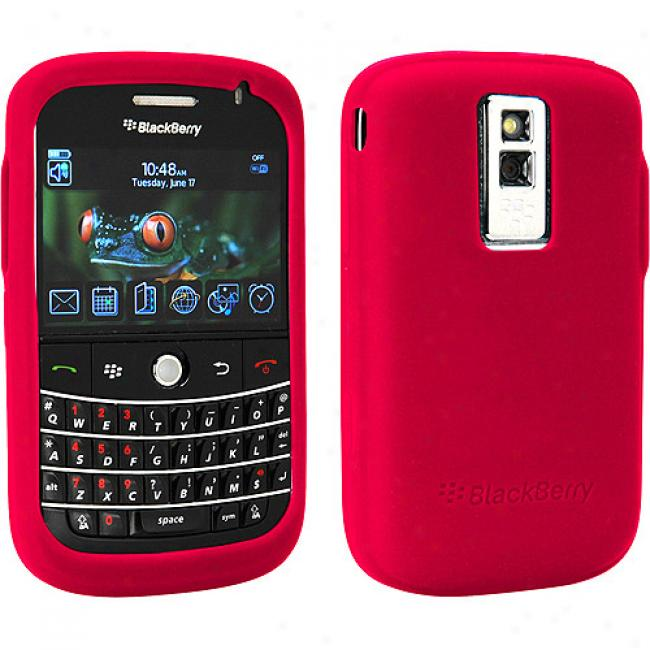 Blackberry Rubber Skin Case In favor of Bold 9000 - Red
