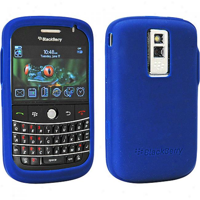 Blackberry Rubber Skin Case For Bold 9000 - Bl8e