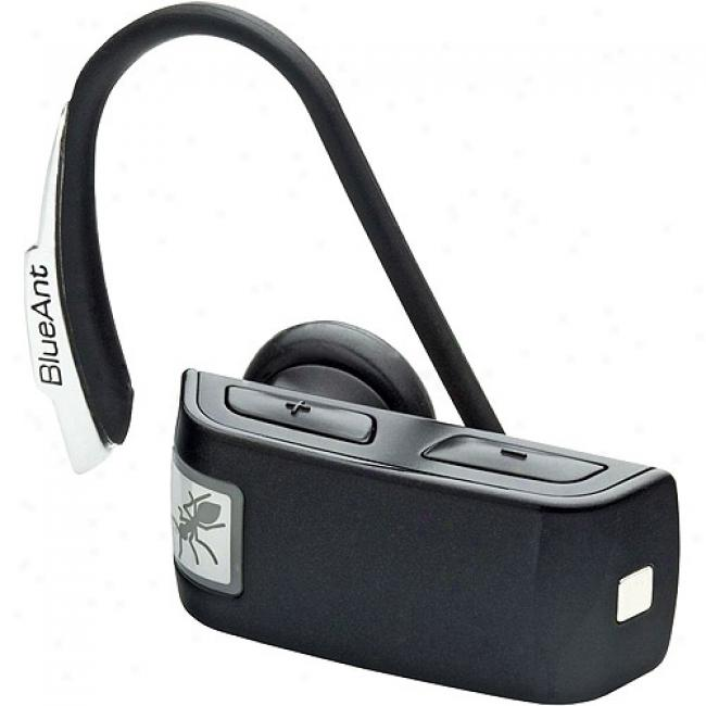 Blueant Z9i Bluetooth Headset W/ Voice Isolation Max, Black