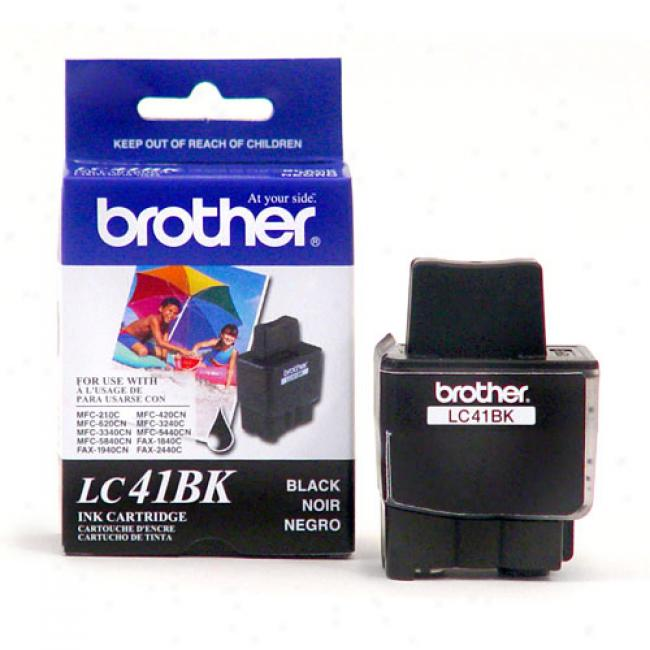 Brother Black Ink Cartridge, Lc4b1k