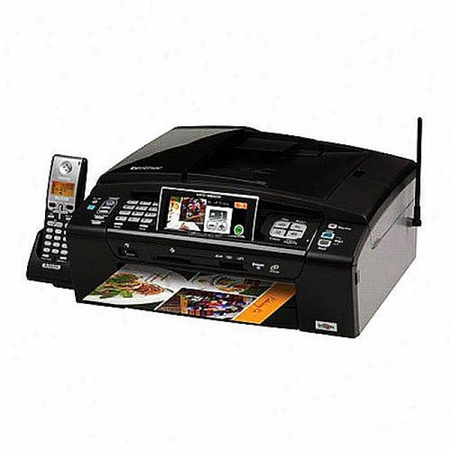 Brother Color Inkjet All-in-one Printer, Mfc990cw