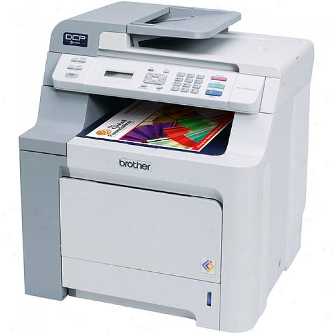 Brother Dcp9040cn Digital Color Laser Printer, Transcriber And Scanner