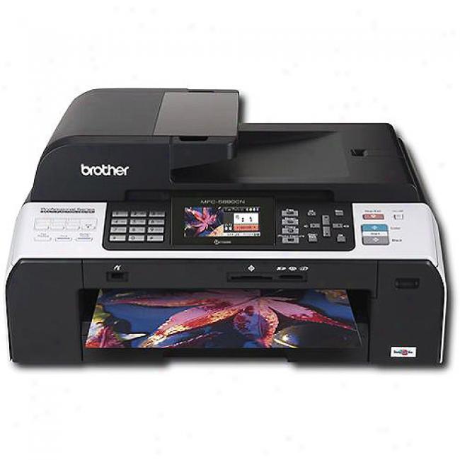 Brother Mfc Color Inkjet Printer