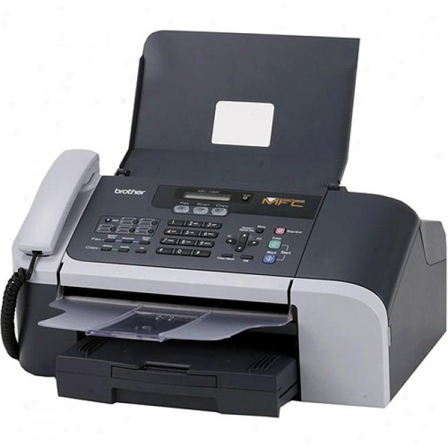 Brother Mfc3360c Color Inkjet All-in-one Printer, Transcriber, Scanner And Faxing With Phone