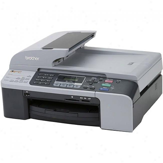Brother Mfc5460cn Networkable Color Inkjet All-in-one Printer, Copier, Scanner And Faxing
