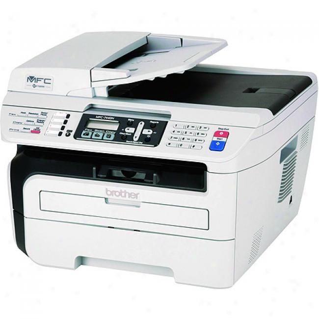 Brother Mfc7440n Laser Network Multi-function Center With Printing, Copying, Scanning And Faxing