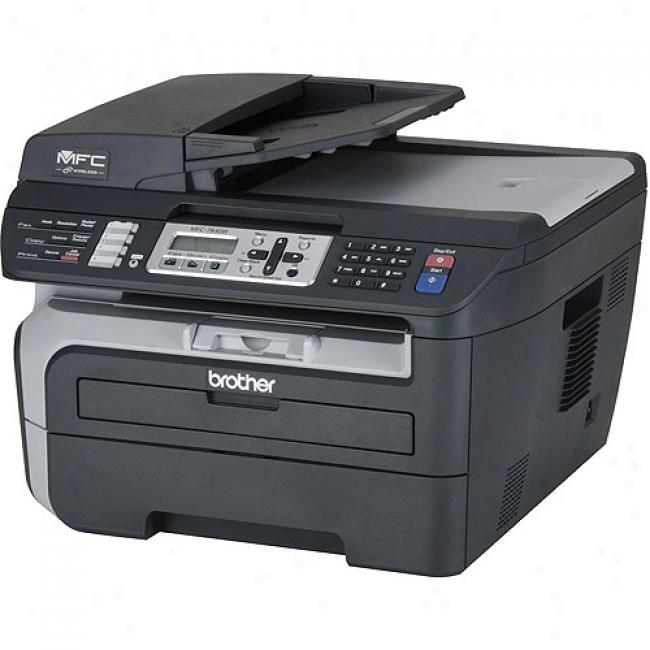 Brother Mfc7840w Laser Multi-function Center With Printing, Copying, Scanning And Faxing & Wireless Networking