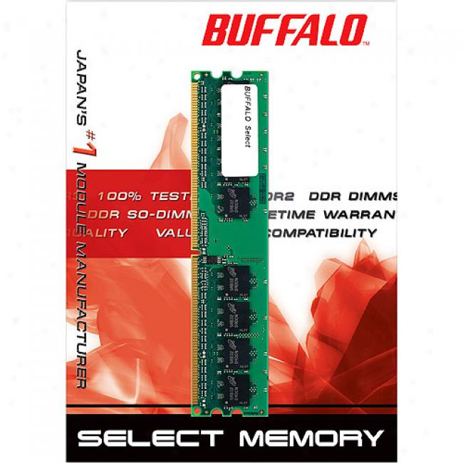 Buffalo Technology 2gb Ddr1 Pc3200 Unbuffereddesktop Memory Kit