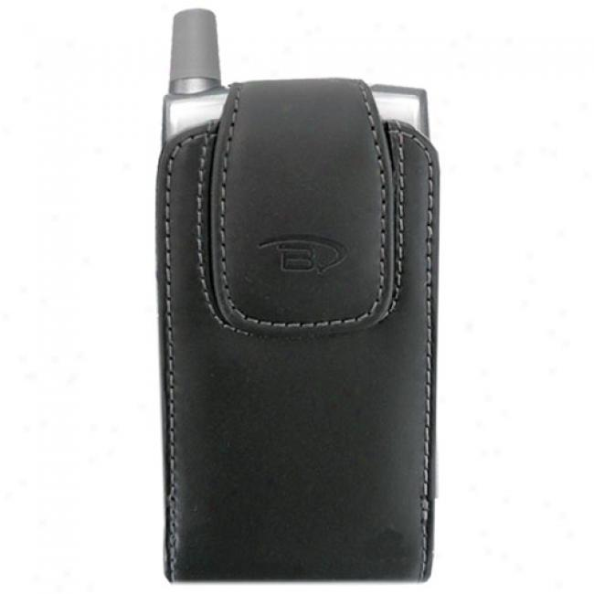 B6tech Leather Case For Treo Smart Phone, Black