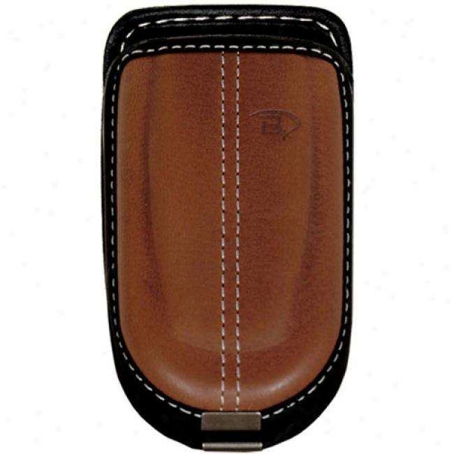 Bytech Leather Slide In Case, Brown