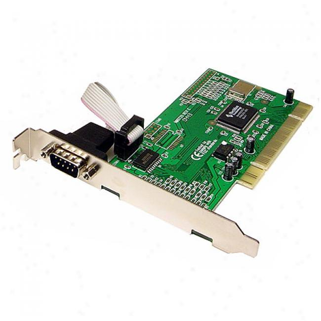 Cqbles Unlimited - 1 Port Db9 Serial Neos 9820 Chipset Pci I/o Card