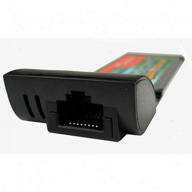 Cables Ublimited - 1 Port Gigabit Ethernet Expresscard