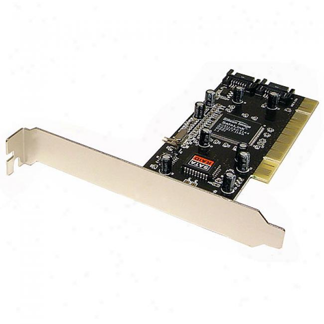 Cables Unlimited 2 Port Serial Ata 150 Controller Pci Card