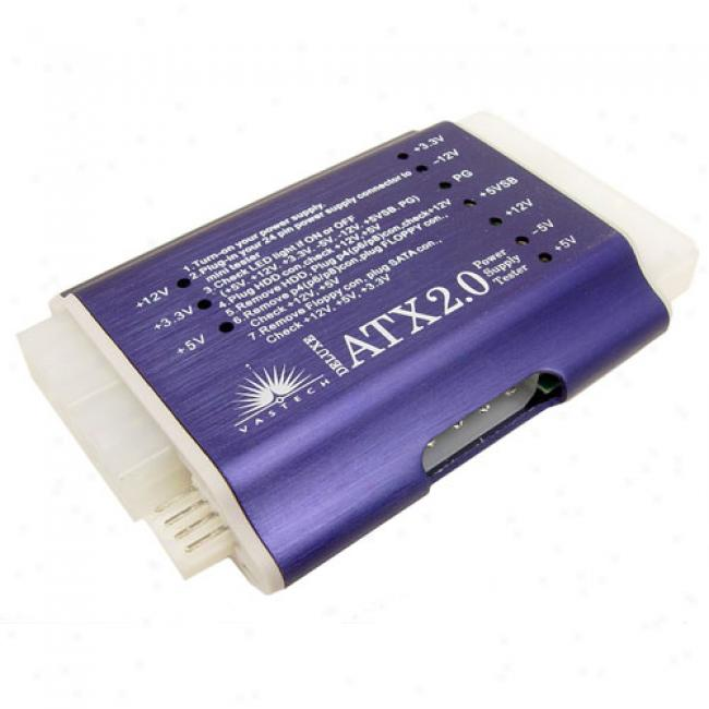 Cables Unlimited Atx2 24-pin Power Supply Tester