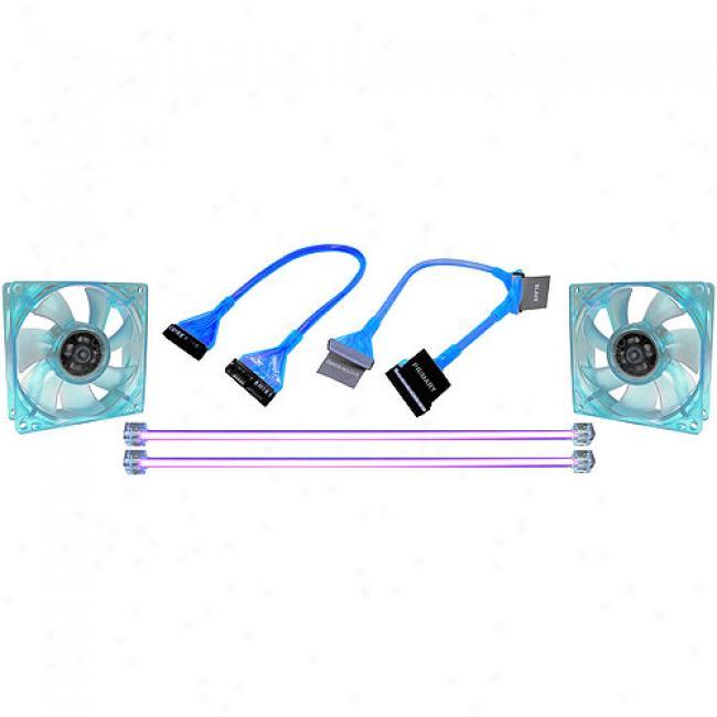 Cables Unlimited - Blue Uv Reactive Mod Kit