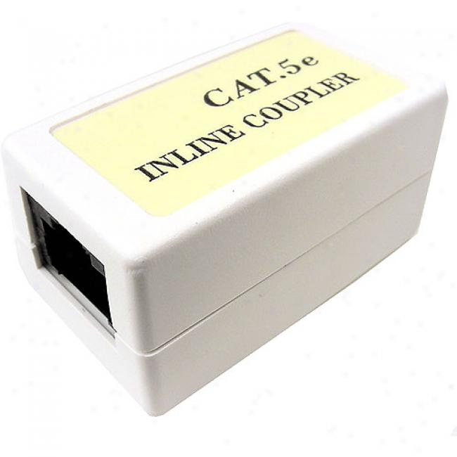 Cables Unlimited - Cat5e Rj45 Coupler, White