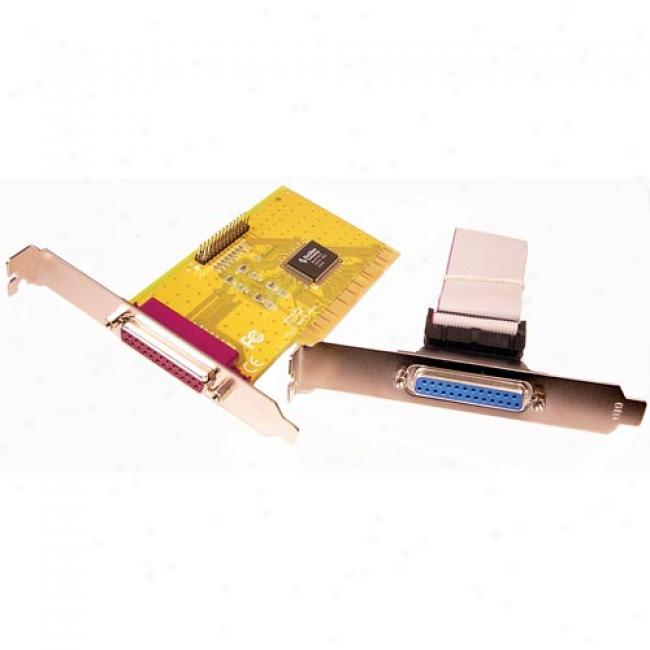 Cables Unlimited - Djal Db25 Parallel Pci Ecp/epp/spp Port I/o Card