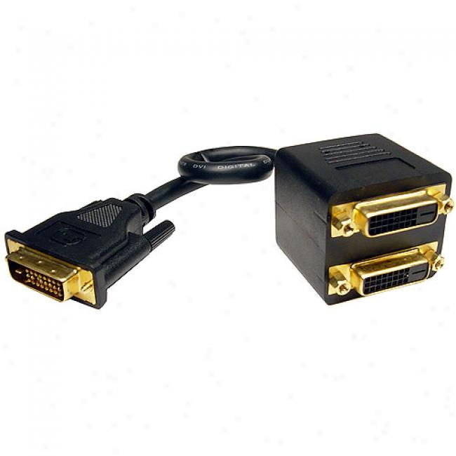 Cables Unlimited - Dvi-d Cable Splitter