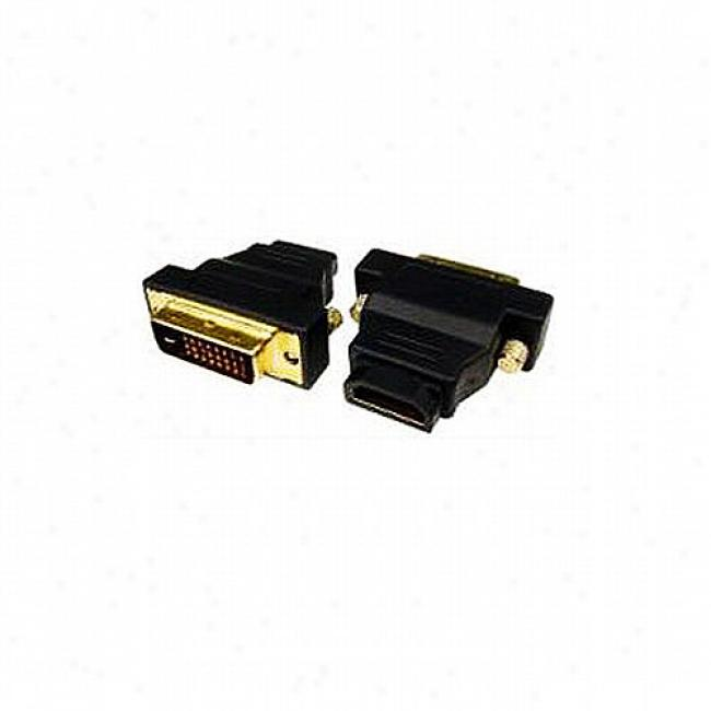 Cables Unlimited Dvi-d Male To Hdmi Female Adapter