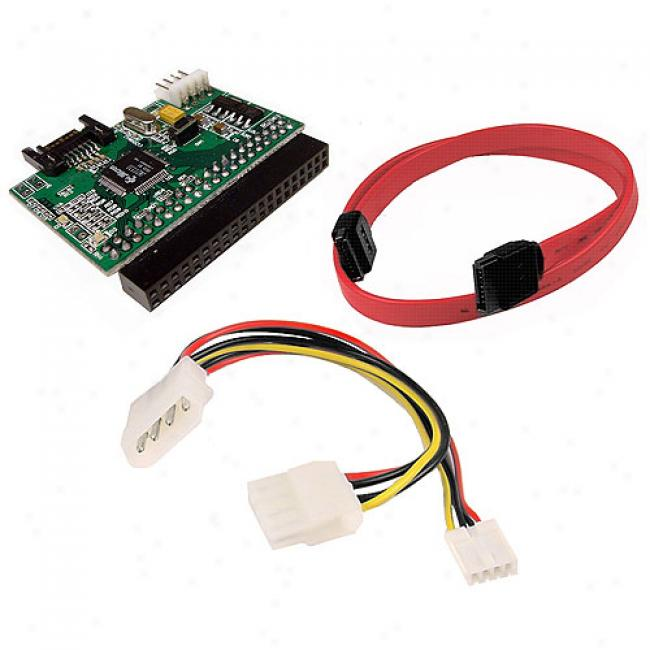 Cables Unljmited - Parallel Ata Drive To Serial Ata Converter