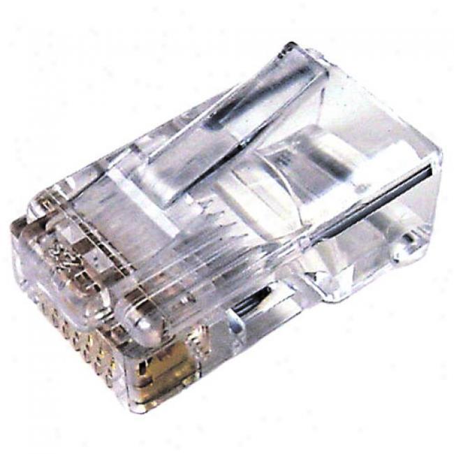 Cables Unlimited Rj45 Connectors, 100-pack
