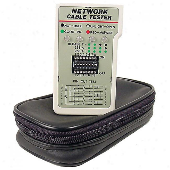 Cables Unlimited - Rj45 Network Tester