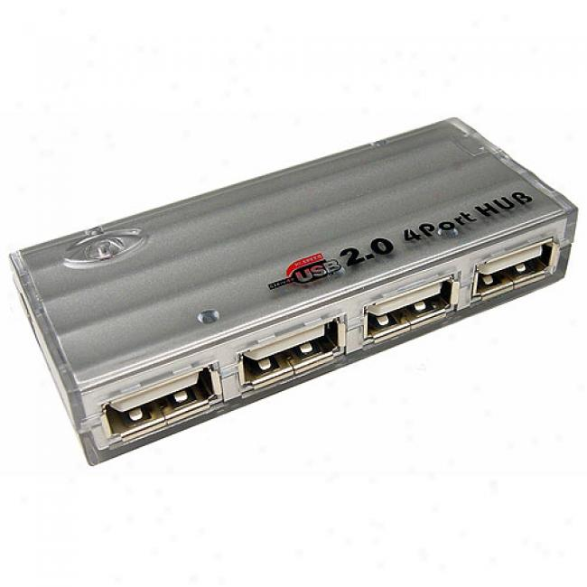 Cables Unlimited - Usb 2.0 4-port Hub