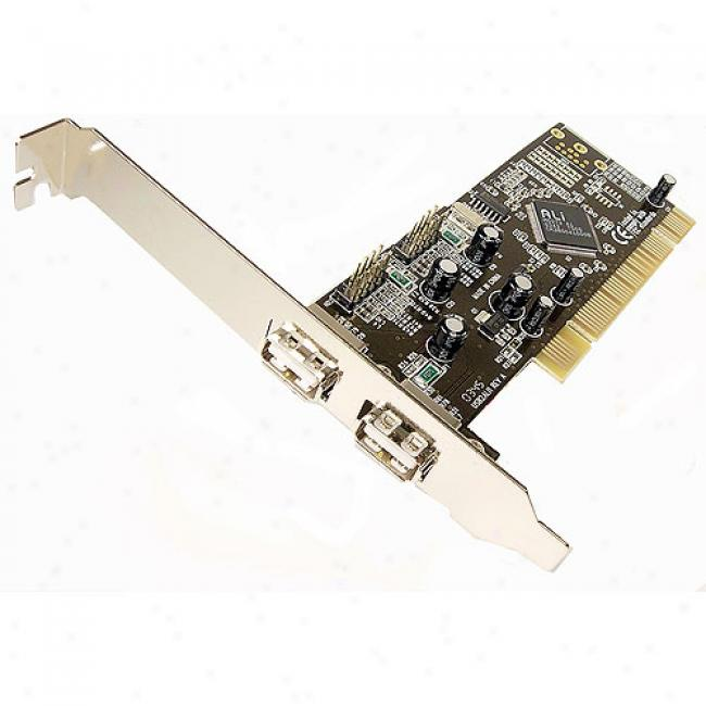 Cables Unlimitedhigh-speed 2 Port Usb 2.0 Pci Card