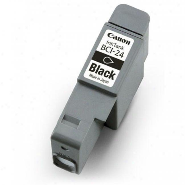 Canon Bci-24 Black Ink Cartridge, 6881a003