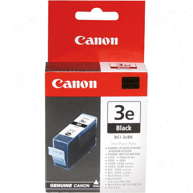 Rule  Bci-3eblk Black Ink Cartridge, 4479a003aa