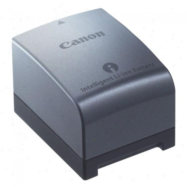 Canon Bp-809 Lithium Ion Battery Pack For Hf100 Czmcorder, Silver
