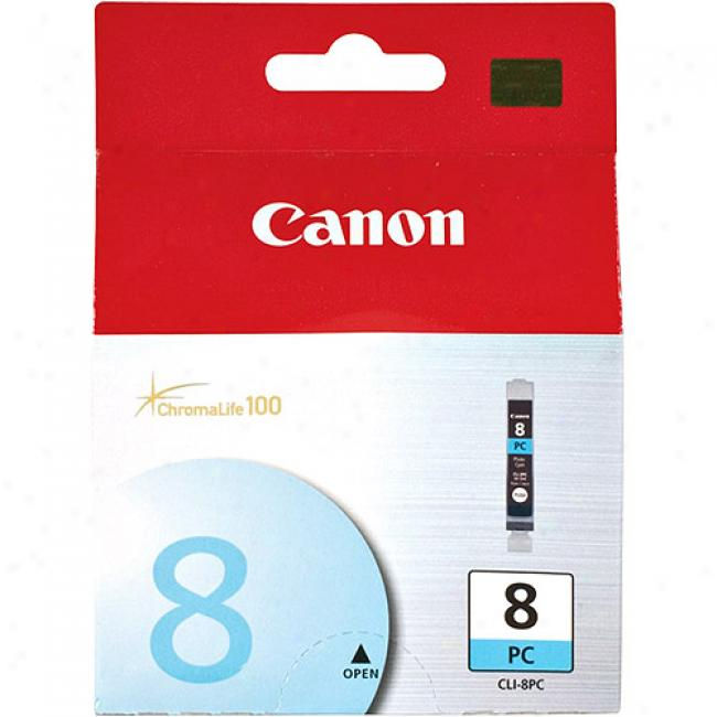 Canon Chromalife 100 Photo Ink Cartridge For Canon Photo Printers, Cyan