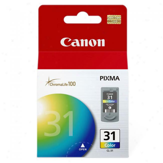 Canon Cl-31 Tri-color Ink Cartridge, 1900b002