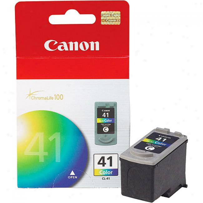 Canon Cl-41 Tri-color - Ink Cartridge, 0617b002