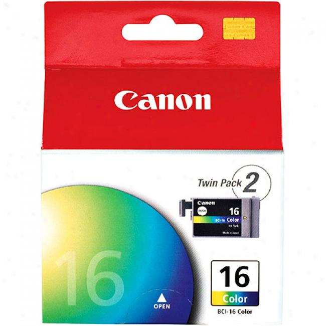 Canon Color Ink Cartridge Forr Canon Compact Photo Printers - 2 Pack