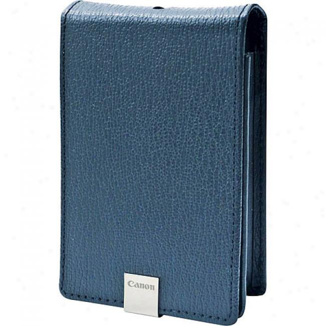 Canon Deluxe Leather Case, Blue