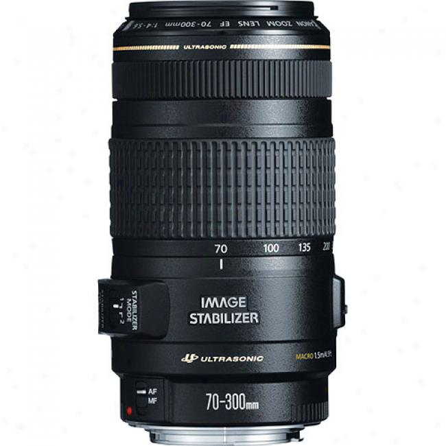 Canon Ef 70-300mm F/4-5.6 Is Usm Ultrasonic Telephoto Zoom Lens