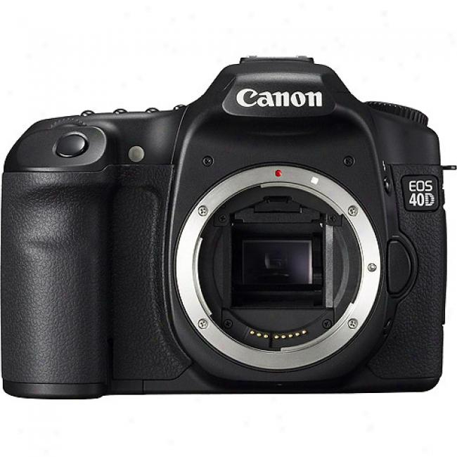 Canon Eos 40d 10.1 Mp Digital Slr Camerq W/ 3