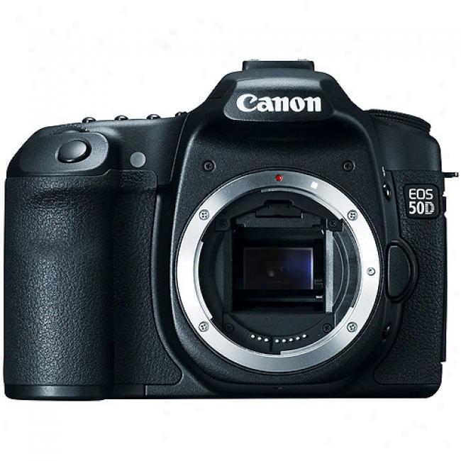Canon Eos 50d Black 15.1mp Digital Slr 'body Only', 3
