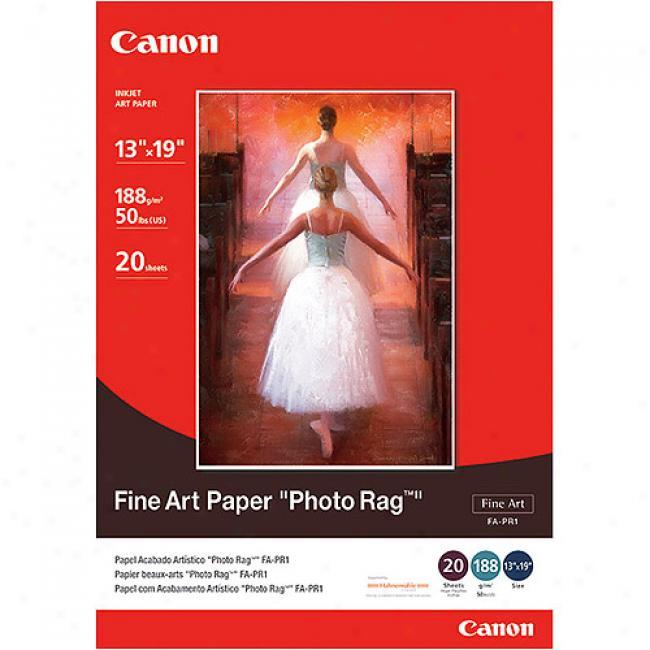 Canon Fine Art Paper Photo Rag - 13