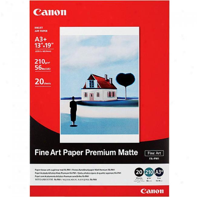 Canon Fine Art Paper Premium Matte - 13