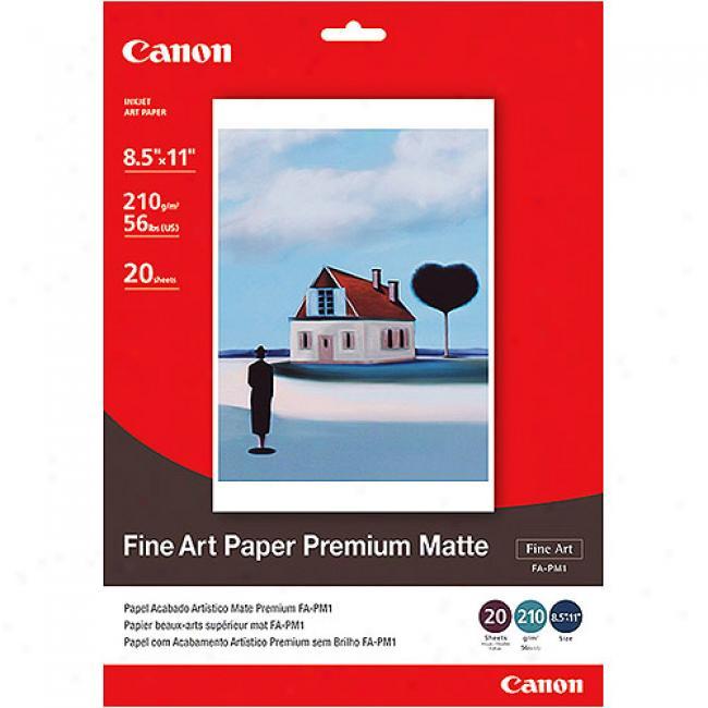 Canon Fine Art Paper Premium Matte - 8.5